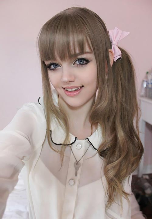عکس صورت دختر خوشگل
